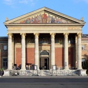 Műcsarnok - Kunsthalle Budapest, Hősök square / Hungary