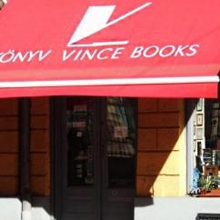 Vince books - Krisztina shop / Budapest / Hungary