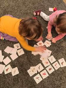 Shoememory party board game with kids brings joy