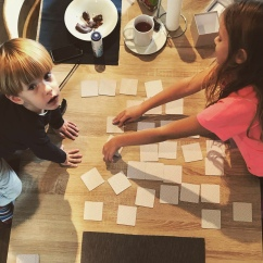 Myshoememory game with the Little Ones